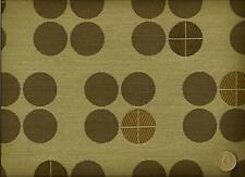 Crypton® Anzea Textiles Greenville Chocolate Mint Geometric Upholstery Fabric