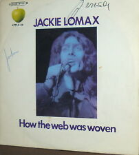 "(HARRISON ) JACKIE LOMAX rare   7""  ITALY 1970  APPLE 23 HOW THE WEB WAS WOVEN"
