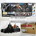 NEW WALMART EXCLUSIVE DARK KNIGHT COMBAT ASSAULT TUMBLER BATMOBILE BATMAN & BANE