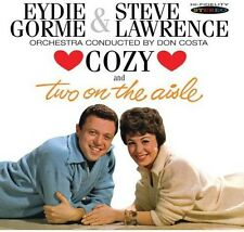 Cozy/Two On The Aisle - Eydie & Steve Lawrence Gorme (2013, CD NEUF)