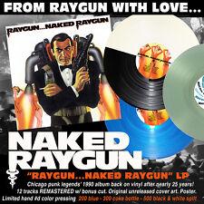 NAKED RAYGUN Raygun...Naked Raygun LP black & white wax 500x Chicago KBD Pegboy