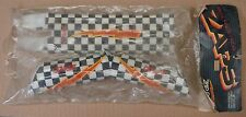 VINTAGE ZAP PADS CHECKERBOARD old school BMX pads - NOS, GHP Greg Hill ad