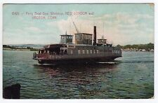 1910 CONNECTICUT PC Postcard GOVERNOR WINTHROP FERRY New London GROTON Boat CT