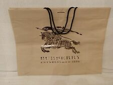 Burberry shopping bag large size
