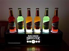 insegna luminosa espositore Bacardi pubblicità pubblicitaria pub bar coca cola