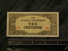 3 -Ten Centavos Occupation money WW2 phillipines, free shipping, a lot available