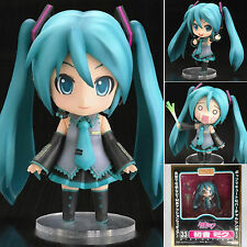 "Anime VOCALOID Nendoroid Hatsune Miku 4"" Face Changable Action Figure New In Box"