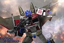 """Hot Toys Transformers Optimus Prime (Starscream Version) 12"""" Figure MISB"""