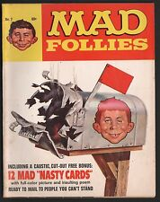 Mad Magazine Follies #7 VG+ 4.5 Cream to Off White Pages Nasty Card Intact