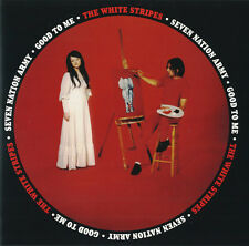 "WHITE STRIPES 'Seven Nation Army 7"" jack elephant lp meg raconteurs Soccer vinyl"