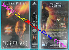 film VHS SESTO SENSO THE SIXTH SENSE Bruce Willis 2000 SIGILLATA (F98**) no dvd