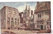 Belgique - cpa - YPRES - La place du Musée