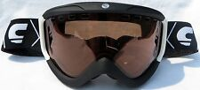 $130 Carrera Mens Zenith Black White winter snow Ski Goggles Polarized uvex Lens