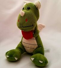 Animal Adventure Dragon Plush Green Heart Stuffed Animal 7""