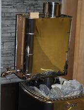 Saunaofen Holzofen Harvia Boiler Warmwasserbehälter Wasserbehälter Wassertank