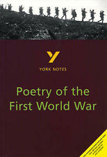 York Notes on Poetry of the First World War, Hana Sambrook