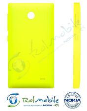 Carcasa Tapa Batería Nokia 8003219 Original Nokia X Dual SIM Amarillo Yellow