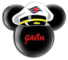 DISNEY FAMILY CRUISE MICKEY SAILOR CAPTAIN PERSONALIZED T-SHIRT IRON ON TRANSFER
