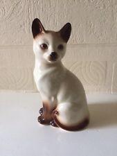 Vintage Siamese Cat Figure Kingston Pottery 1970's Hull England