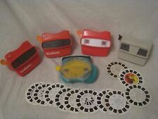 5 View-Master lot w/ 10 reels View Master reel 3D Viewmaster viewers viewer