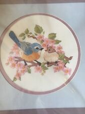 New Vintage Something Special Crewel Embroidery Kit BLUEBIRD FEEDING TIME PICTUR