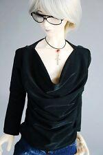 [wamami] 06# Black Vest/T-shirt 1/4 MSD DZ AOD DOD LUTS BJD Dollfie