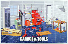 Fujimi GT15 111186 Garage & Tool Series Garage & Tool Set 1/24 scale kit