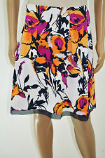 INC International Concepts Women Floral Print Pleated Knee Length Skirt Plus 3X