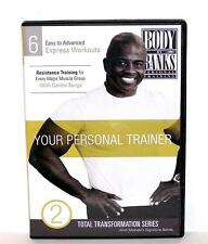 DVD VIDEO Exercise Workouts Instruction BODY BY BANKS YOUR PERSONAL TRAINER