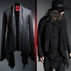 BytheR Men's Gothic Chic Control Frayed Buckle Stylish Unique Jacket P000BFAW