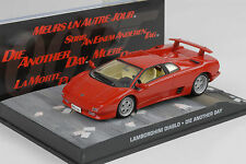 Movie James Bond - Lamborghini Diablo -The other day - 1:43 Ixo Altaya