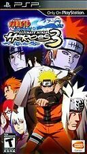 BRAND NEW Y-FOLD SEAL Naruto Shippuden: Ultimate Ninja Heroes 3 (Sony PSP, 2010)