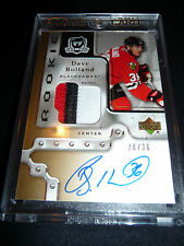 06-07 The Cup DAVE BOLLAND Auto / RC GOLD 28/36 3CLR PATCH ROOKIE ( David )