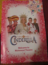 HAYLEY MILLS HAND SIGNED PANTOMIME PROGRAMME (AUTOGRAPH) CINDERELLA