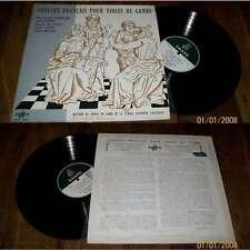 CHARPENTIER/COUPERIN-Concert Francais Pour Violes De Gambe LP Erato LDE 3083