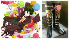 Ao No Blue Exorcist Amaimon Earth King Cosplay Costume Boots Boot Shoes Shoe