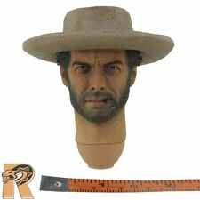 Good Cowboy V1 - Head w/ Cowboy Hat - 1/6 Scale - Redman Action Figures