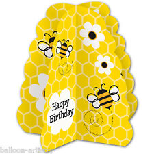 "14"" Busy BUZZY BEES Happy Birthday Party Table Centrepiece Decoration"
