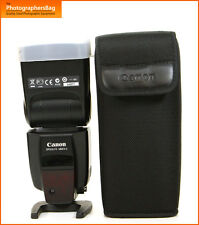 Canon 580EX II Speedlite Flash Unit Canon Flashgun  Free UK Post