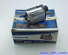 PANASONIC NV-GS15 CAMCORDER BOXED MINI DV TAPE DIGITAL VIDEO CAMERA GS15EB