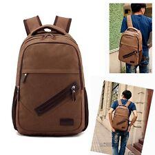 Herren Überschlagtasche Rucksack Umhängetasche Backpack Studenten Daypack Bag