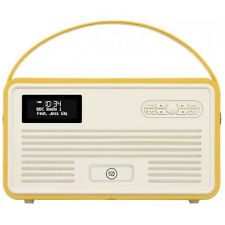 VQ View Quest Retro Radio MKII DAB+ FM Bluetooth Speaker 6s iPhone Dock MUSTARD