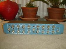 Orban Parasound 622B, Original, Stereo 4 Band Parametric Equalizer, Vintage Rack