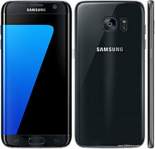 "Samsung India Warranty Galaxy S7 Edge Duos 4G LTE 32GB 5.5"" 12MP Black Onyx"
