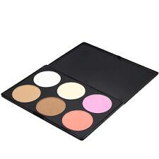 Hot Sale 6 Colors Contour Face Powder Professional Makeup Blush Palette