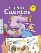 Cuenta cuentos de 5 minutos (Libros de Lectura) (Spanish Edition) by , Good Book