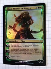 Mtg Magic the Gathering Journey into Nyx Ajani, Mentor of Heroes FOIL