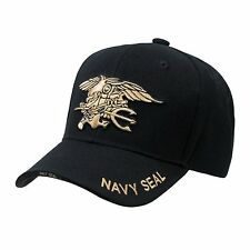 Black United States USA US Navy Seals Seal Team Baseball Cap Caps Hat Hats