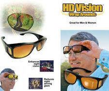 KETNET HD Night Vision Unisex Driving Sunglasses Nice Over Wrap Around Glasses