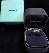 Tiffany & Co. Jewelry 1999 Lucida Platinum PT950 4mm Wide Wedding Band Ring